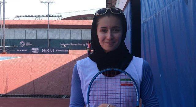 بانوی تنیس باز ایران: برای سربلندی اسم ایران کوشش می کنیم