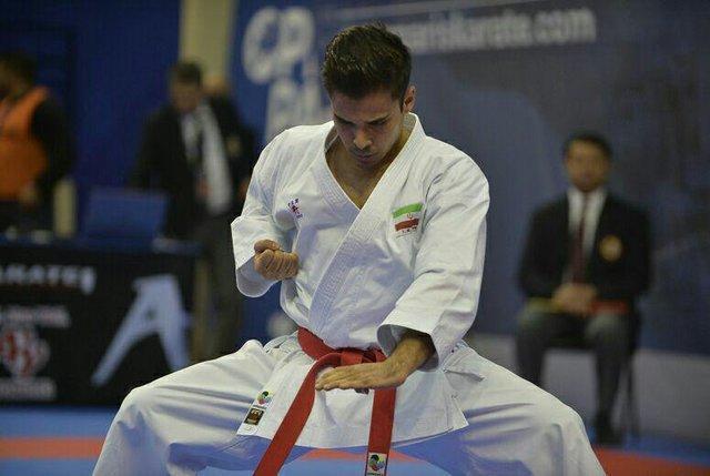 عسگری دومین فینالیست کاراته ایران در قهرمانی دنیا، بهمنیار و درفشی پور در انتظار برنز