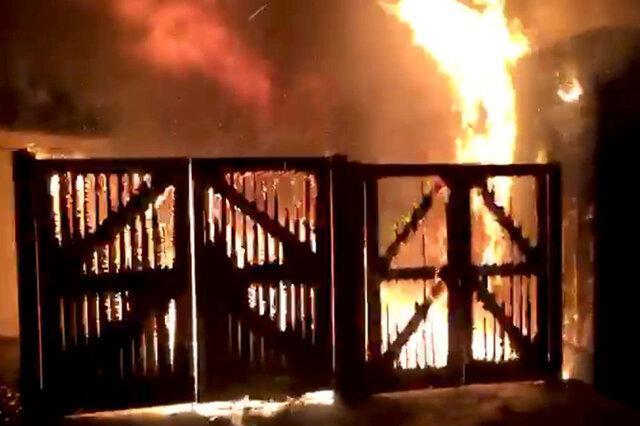 تخلیه باغ وحش چِستر انگلیس در پی آتش سوزی