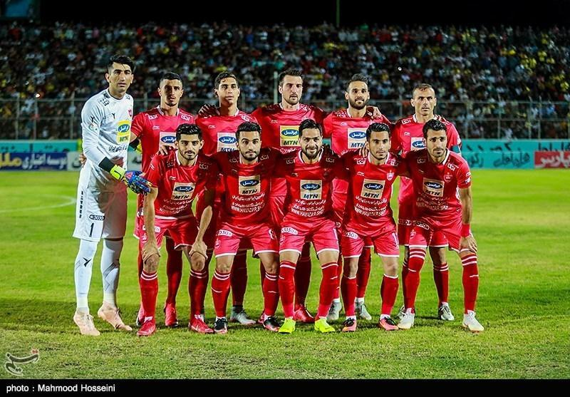 ترکیب تیم های پرسپولیس و السد معین شد