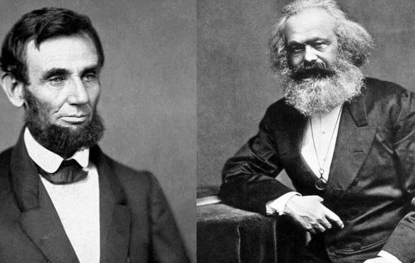 مروری بر رابطه محبت آمیز و متقابل مارکس و آبراهام لینکلن