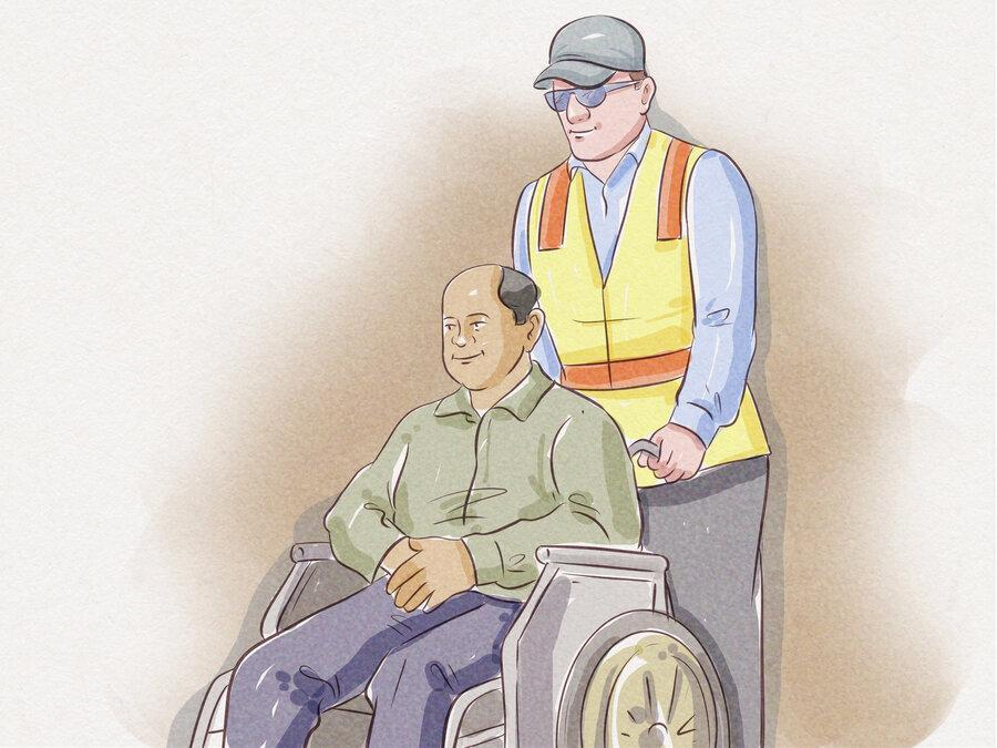 نکته بهداشتی: حرکت دادن جایگاه چرخدار