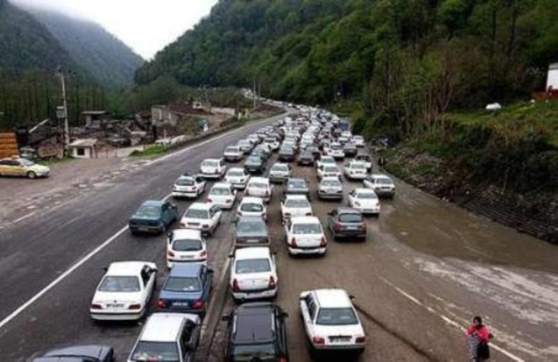 مسدود شدن 2 روزه محور هراز از 20 آبان ، ترافیک روان در محور های شمال-تهران